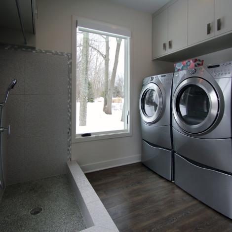 Laundry & Dog Wash Station